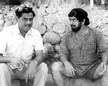 Tiruppur Mani with Actor Sivakumar
