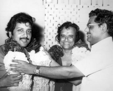 With Actor Siva Kumar and Director Billa Krishnamoorthy