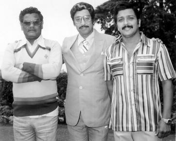 With Actors Muthu Raman and Siva Kumar